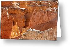 Heart Of The Hoodoos Greeting Card