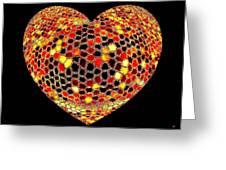 Heartline 7 Greeting Card