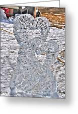 Hearts Cold As Ice Greeting Card