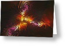 Heat Of Passion Greeting Card