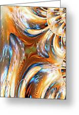 Heatwave Abstract Greeting Card