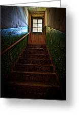 Heaven Is Closed Greeting Card by Nathan Wright