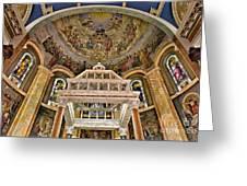 Heavenly Altar Greeting Card