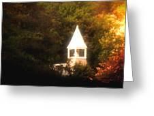 Heavenly Light Greeting Card