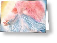 Heavenly Love Greeting Card