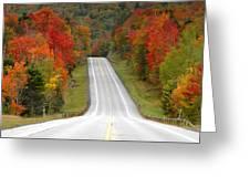 Heavens Highway Greeting Card