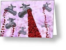 Heavy Menstrual Bleeding Greeting Card