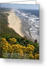 Heceta Beach View Greeting Card