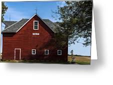 Heflin Barn Headon Greeting Card