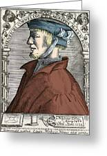 Heinrich Cornelius Agrippa, German Greeting Card