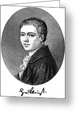 Heinrich Von Kleist Greeting Card