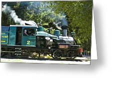 Heisler Steaming Greeting Card