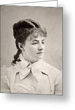 Helena Modjeska (1840-1909) Greeting Card