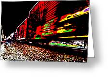 Hellbound Train Greeting Card