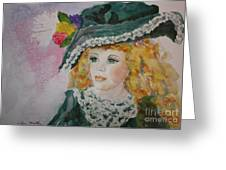 Hello Dolly Greeting Card by Terri Maddin-Miller
