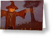 Helloween Greeting Card