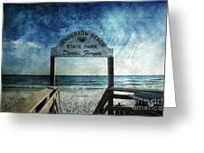 Henderson Beach State Park Florida Greeting Card