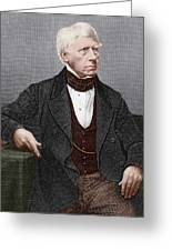 Henry Brougham, Scottish Lawyer Greeting Card by Sheila Terry