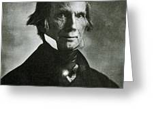 Henry Clay Sr., American Politician Greeting Card