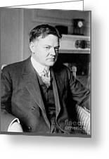 Herbert Clark Hoover Greeting Card