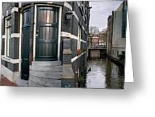 Herengracht 395 Bis. Amsterdam Greeting Card