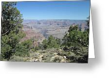 Hermits Rest Grand Canyon Greeting Card