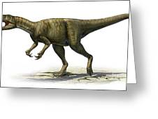 Herrerasaurus Ischigualastensis Greeting Card