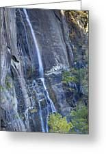 Hickory Nut Falls Chimney Rock State Park Greeting Card