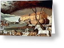 Hicks: Noahs Ark, 1846 Greeting Card