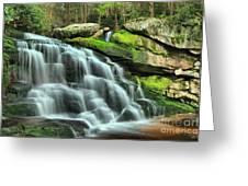 Hidden Elakala Falls Greeting Card