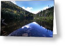 Hidden Mountain Pond  Greeting Card