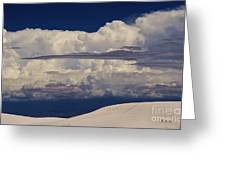 Hidden Mountains In The Shadows Of The Storm Greeting Card