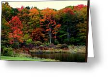 Hidden Valley Lake Greeting Card