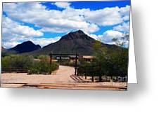 High Chaparral Ranch Greeting Card