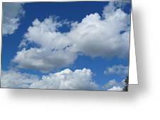 High Clouds Greeting Card