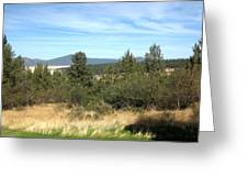 High Desert Landscape Greeting Card