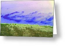 High Green Pastures  Greeting Card