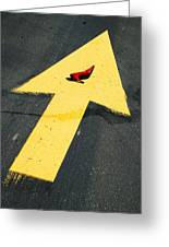 High Heel And Arrow Greeting Card by Garry Gay