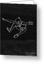 High Jump II Greeting Card