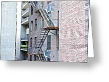 High Line Print 26 Greeting Card