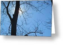 High Noon Sun Greeting Card