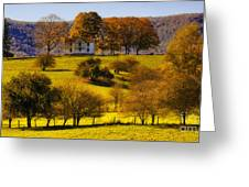 High On A Hill  Greeting Card