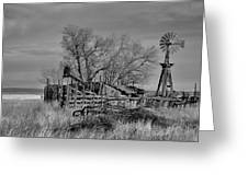 High Plains Wind Greeting Card
