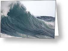 High Stormy Seas Greeting Card