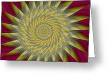 Highspeed Pinwheel Greeting Card