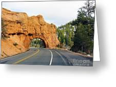 Highway 12 In Utah Greeting Card