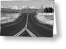 Highway 52   Greeting Card