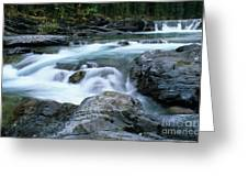 Highwood River Greeting Card by Bob Christopher