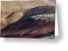 Hiking In The Painted Hills Greeting Card