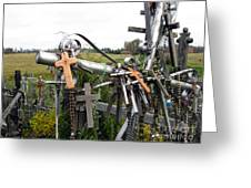 Hill Of Crosses 08. Lithuania Greeting Card